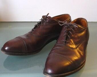 Alden New England Handmade Men's Wingtip Brogues Size 13 AA/B US