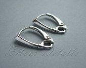 Top Quality Decorative Sterling Silver Lever-backs 925 model ES127