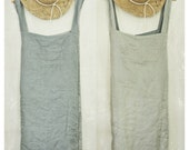 REVERSIBLE  PINAFORE APRON.  cross over apron