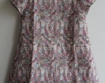 Liberty 'Vee' Floral Fabric Dress