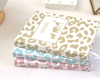 Personalized Hardcover Journal- Safari