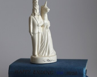 unicorn horse wedding cake topper weds unicorn wedding cake topper by melabowed on etsy 21417