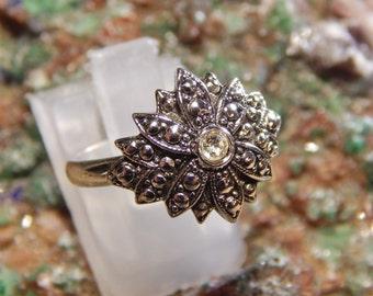Silver CZ Fashion Ring