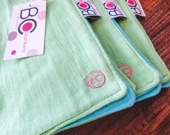 Muslin Wash Cloth/ Burp Cloths