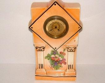 Edwardian Clock Art Nouveau Clock Antique Clock Vintage Mantel Clock Vintage Mantle Clock Vintage Clock Vintage Home Decor Collectible Clock