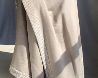 Shades of Grey With Silver Wool Cape