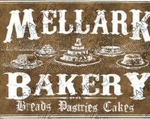 Mellark Bakery Bag Treat Topper Labels *INSTANT DOWNLOAD*
