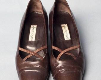 Vintage mary jane shoes //  I 40 | UK 6,5 | USA 9,5