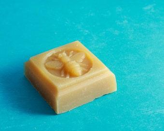 Guest/Sample Goat Milk Soap (1 bar) - Bee Mold