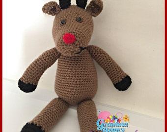 Cuddle Pals Reindeer Pattern