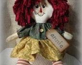 Primitive Annie Rag Doll