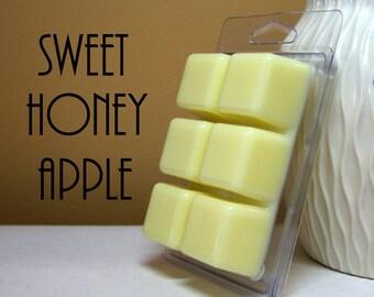 Sweet Honey Apple Scented Wax Tart Cubes