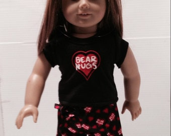 18 in Doll/ Anerican Girl Doll Pajamas
