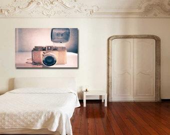 Camera Photography Print - Canvas Wall Art
