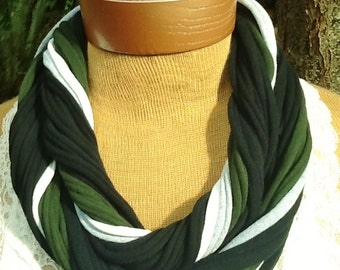 Philadelphia Eagles  - T Shirt Scarf  Infinity Scarf Belt