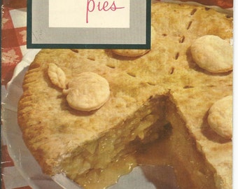 Vintage 1953 Picture Pies from Armour Cookbook