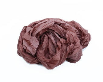 marsala silk scarf - Marsala - marsala, pink brown silk scarf