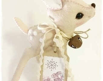 PDF Instant Download - Pattern / E-Book deer / fawn FEE :) 6 Inch - Eileen Seifert - Teddy-Manufaktur.de