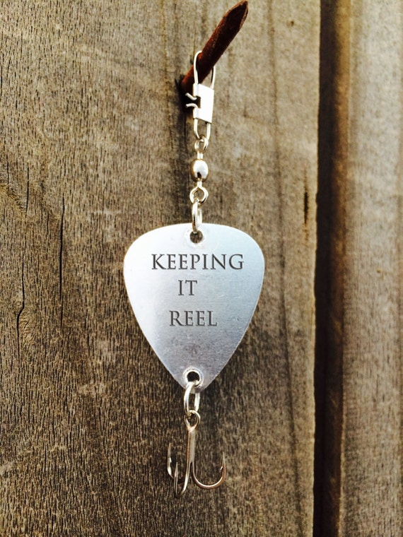 Keeping it reel personalized fishing lure hand by snootybride for Keep it reel fishing