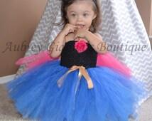 Anna Tutu Costume, Princess Anna dress, Frozen Costume, baby girl costume, princess costume, Frozen birthda