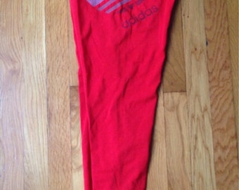 vintage adidas leggings mens size large deadstock NWT 1988 made in USA