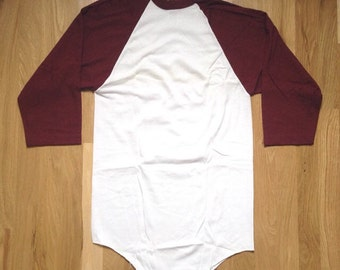 vintage russell athletic baseball tee mens size medium deadstock NWOT 80s made in USA