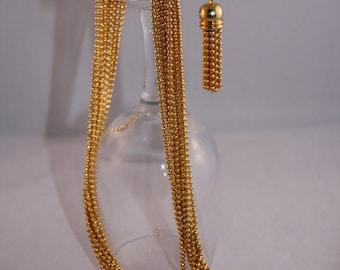 Vintage Chain necklace gold chain - Anne Klein
