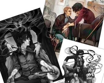 Coey's Sherlock Prints