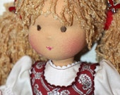 """Waldorf doll """"Berry""""-12-13 inches, daughter of a gift"""