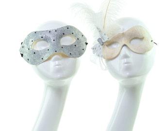 SALE - ELEGANCE - His/Her Masquerade Mask Set