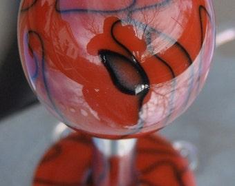 "Custom Hand Made Arcade Stick Joystick Sanwa Ball Top ""Spider-Man"""