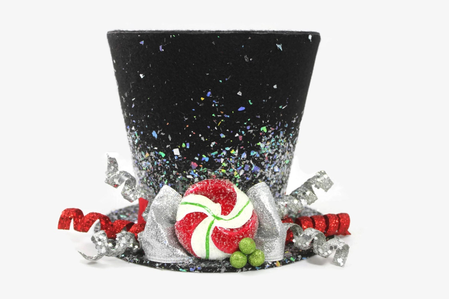 Christmas tree topper top hat tree topper christmas table for Best christmas decorations