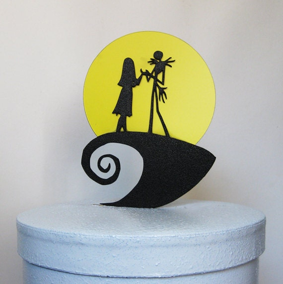 Wedding Cake Topper The Nightmare Before Christmas Jack and