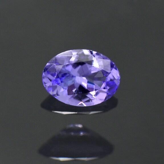 Lavender Tanzanite: Glittery Purple Blue Tanzanite Gemstone From Tanzania 0.66 Cts