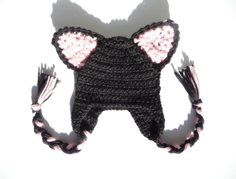 Cat hat crochet pattern crochet cat hat baby cat hat pattern zoom bankloansurffo Images