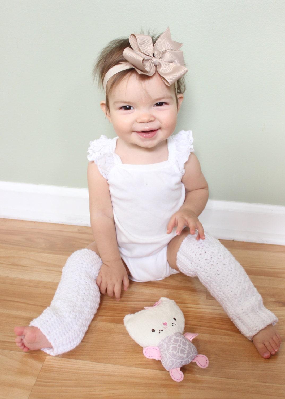 Baby Leg Warmers Crochet Baby Leg Warmers White Leg Warmers