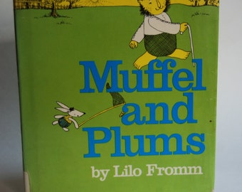 Vintage Children's Book, Muffel and Plums