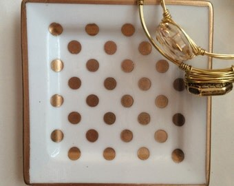 Polkadot Jewelry Dish