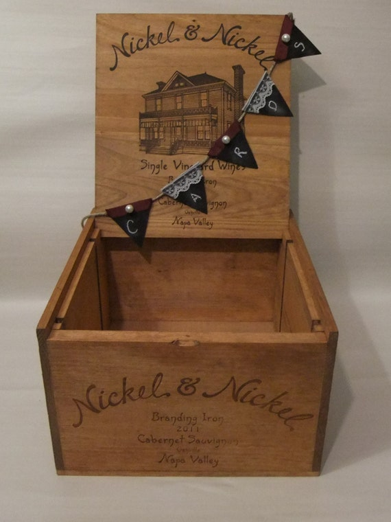 wooden wine box 2011 nickel nickel single vineyards branding. Black Bedroom Furniture Sets. Home Design Ideas
