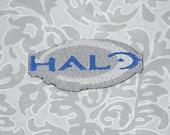 Halo Iron On Patch