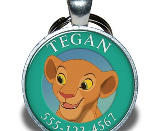 Pet ID Tag - Nala Lion King *Inspired*