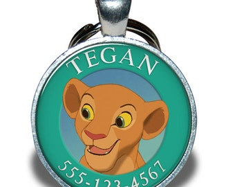 Pet ID Tag - Nala Lion King *Inspired* - Dog tag, Cat Tag, Pet Tag