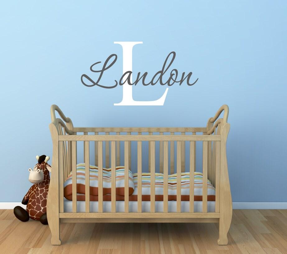 Baby Boy Nursery Wall Decals