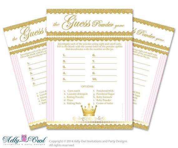 Girl Princess Guess Powder Game, Guess White Stuff Game