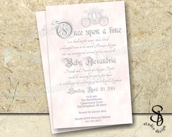 Story Book Fairy tale Baby Shower invitation