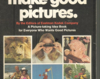 Vintage Kodak How to Make Good Pictures Idea Book 1972