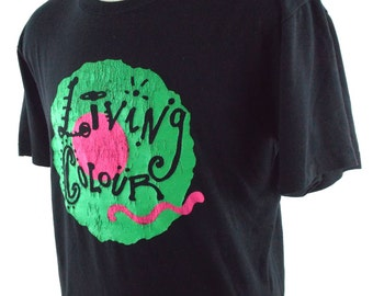 80s Living Colour Cult of Personality VIntage T Shirt XL