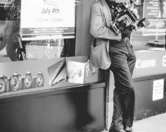 Black and White Fine Art Photography // Street Photography, New York City // Giclée Print