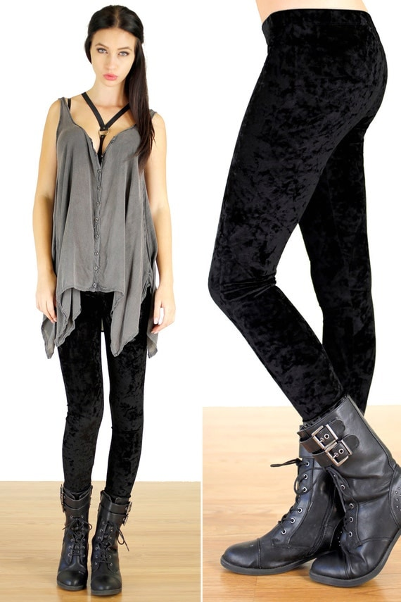 impressive grunge outfits with leggings 14
