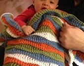 Crazy Waves Blanket - PDF Crochet Pattern